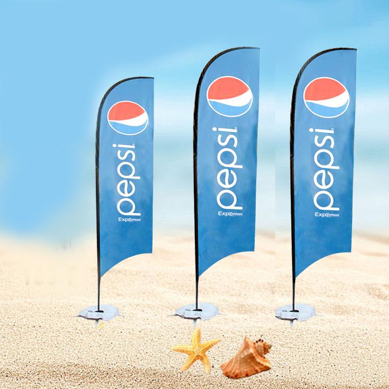 Оптовая продажа на заказ, высокое качество, пляжные флаги, рекламный баннер с флагом