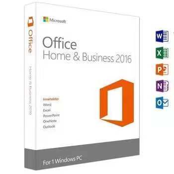 microsoft software License ms office 2016 home and business Retail Key 100% Useful