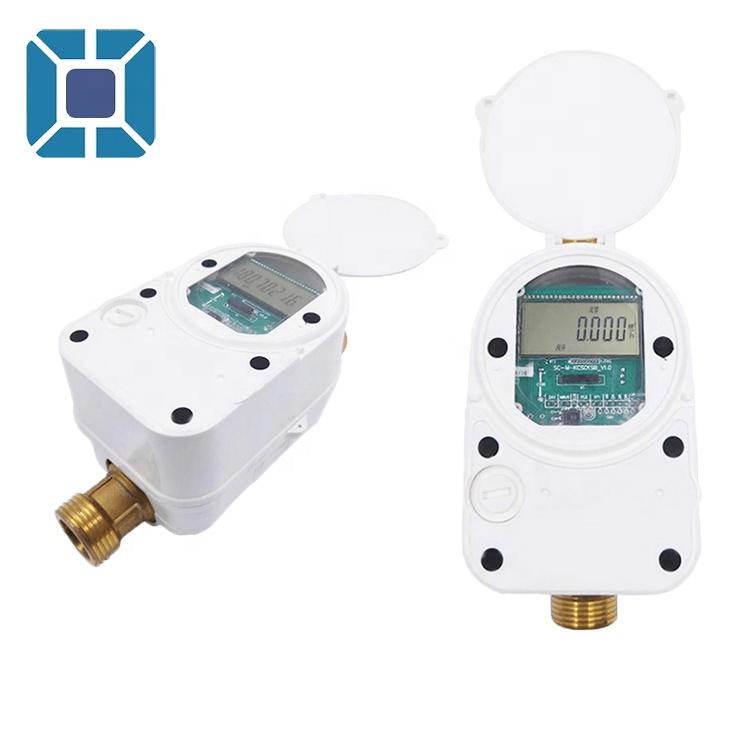 Class B Prepaid Lora Water Flow Meter Ultrasonic Water Meter Prepaid Valve Control Ultrasonic Water Flowmeter Portable Meter