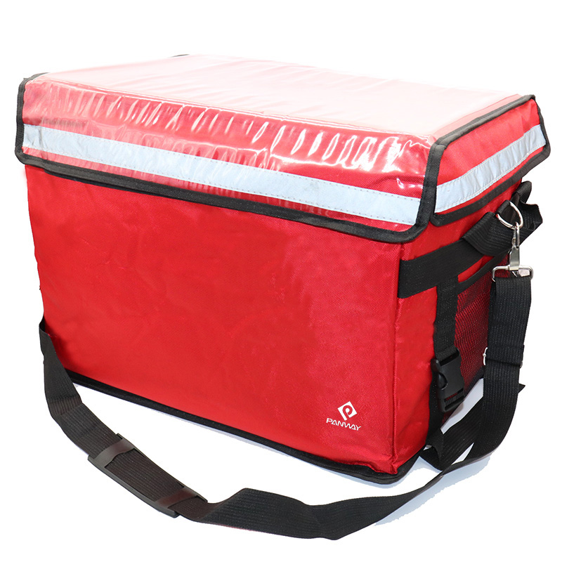 Insulated delivery bag Foldable Waterproof Leak Proof Lunch Insulated Cooler bag Warmer Food Delivery Bag