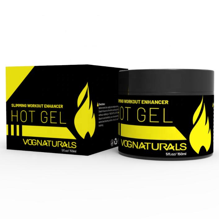 Горячий гель VOGNATURALS, жиросжигатель для живота для мужчин и женщин, гель и крем для похудения