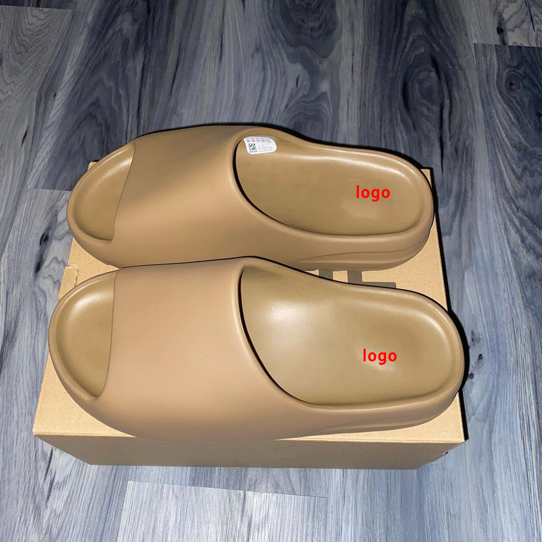 2021 New Designs 3 styles wholesale inspired man yeezy slide with box