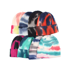 Winter Beanie 2021 New Custom Fashion Wool Winter Knitted Keep Warm Tie Dye Hip Hop Beanie