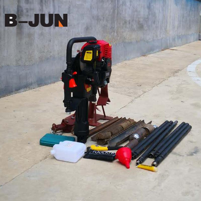 Hot sale portable soil bore drilling machine 10m sampling rig for test