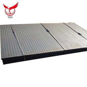 Tianjin Supplier of Carbon Steel Galvanized Floor Plate Tread Plate for Slip Resistance