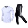 white shirt with black white pants