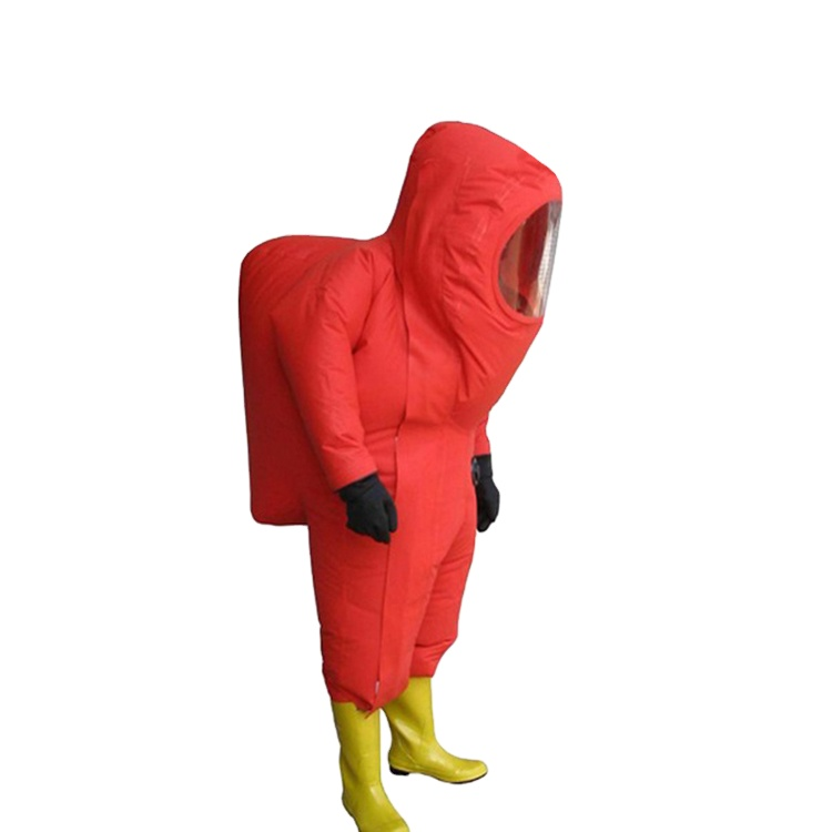 High Quality Professional Chemical Suit For Firefighter's Protection