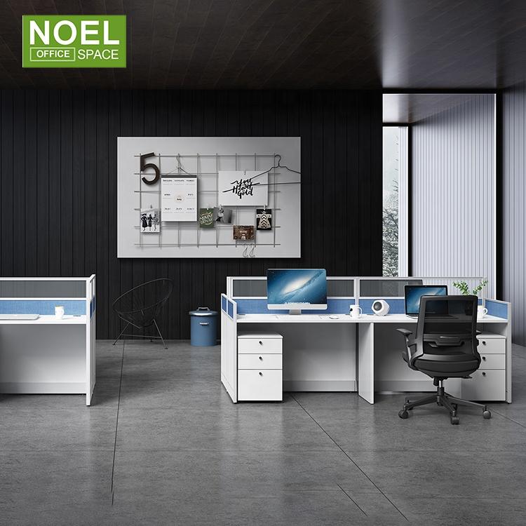 Новая мебель для офиса с двумя рабочими станциями доска сотрудников бюро 2-местный экранная рабочая станция