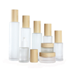 bamboo lotion pump bottle