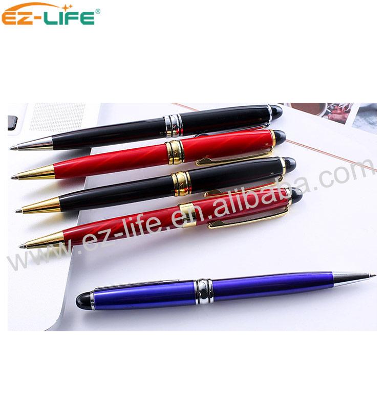 Заводской поставщик, оптовая продажа, деловой подарок, металлическая шариковая ручка, роскошная металлическая шариковая ручка с индивидуальным логотипом, рекламная ручка