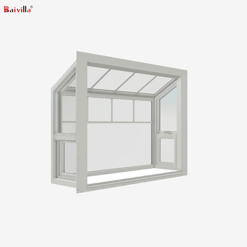 Заводская Настройка OEM алюминиевые окна для сада с одиночным закаленным стеклом для продажи в Европе