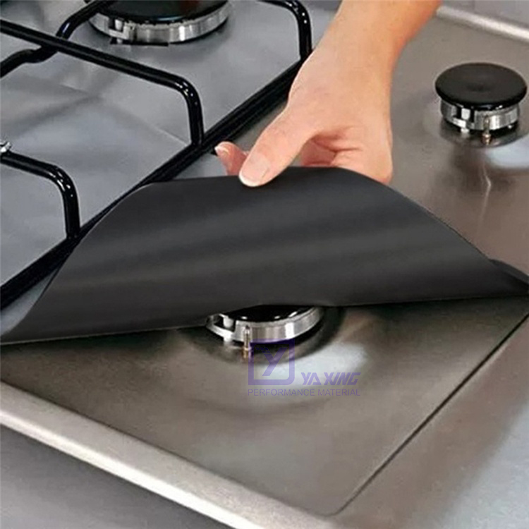 Factory Direct Sale Oven Cover Non-stick Reusable Mat For Protecting Stove