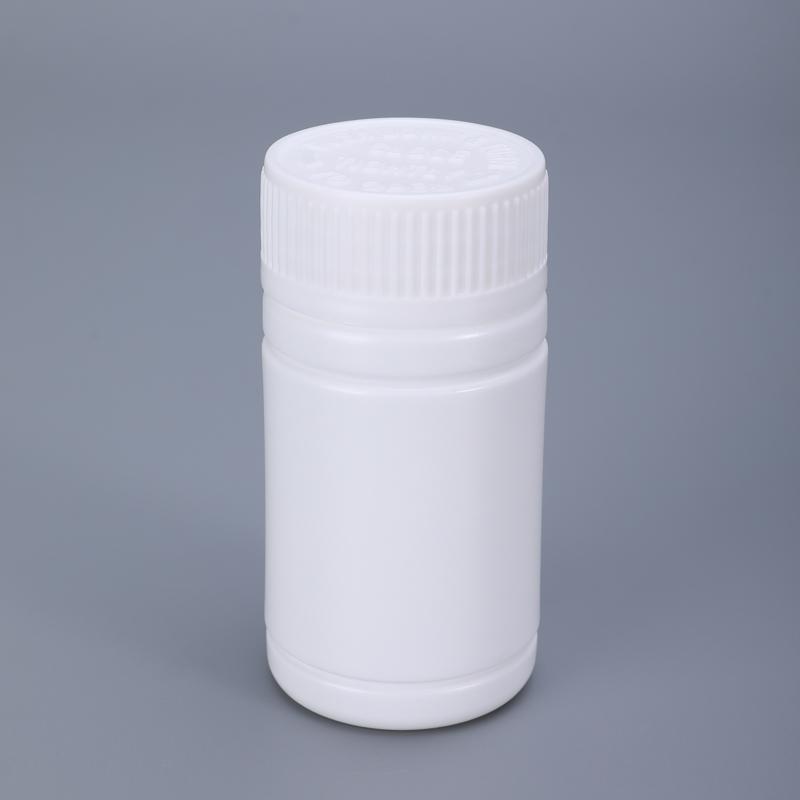 112 мл маленький круглый пластиковый флакон HDPE контейнер для хранения лекарственных таблеток