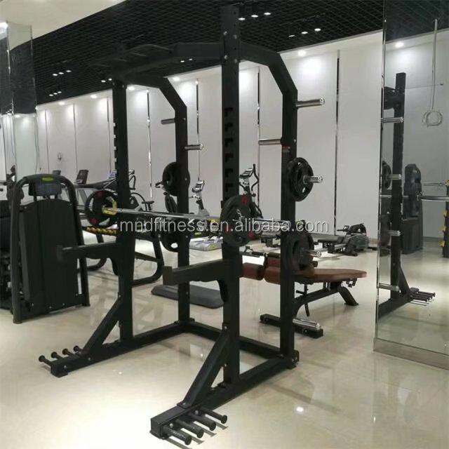 MND FITNESS Popular Wall Training Rack Power Rack for Bodybuilding Commercial Gym Equipment