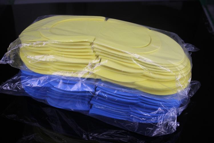Открытые ногти eva кусачки кутикулы спа Пены Мягкий педикюр одноразовые Тапочки для салона