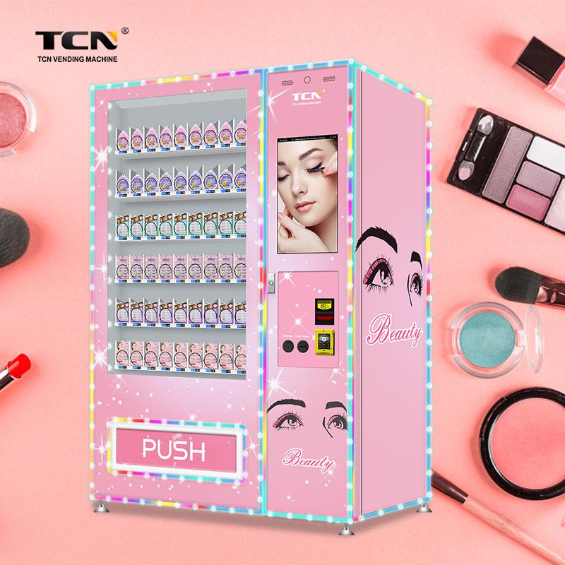 TCN пользовательский дизайн, торговый автомат для ресниц, косметический торговый автомат для волос, торговый автомат для красоты ресниц