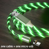 สีเขียว Micro USB
