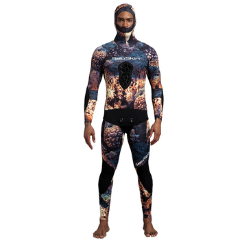 SeaSkin Camouflage Spearfishing Wetsuits For Underwater Hunting Diving