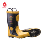 Fire Resistant High Quality Work Fire Resistant Firefighting Safety Boots