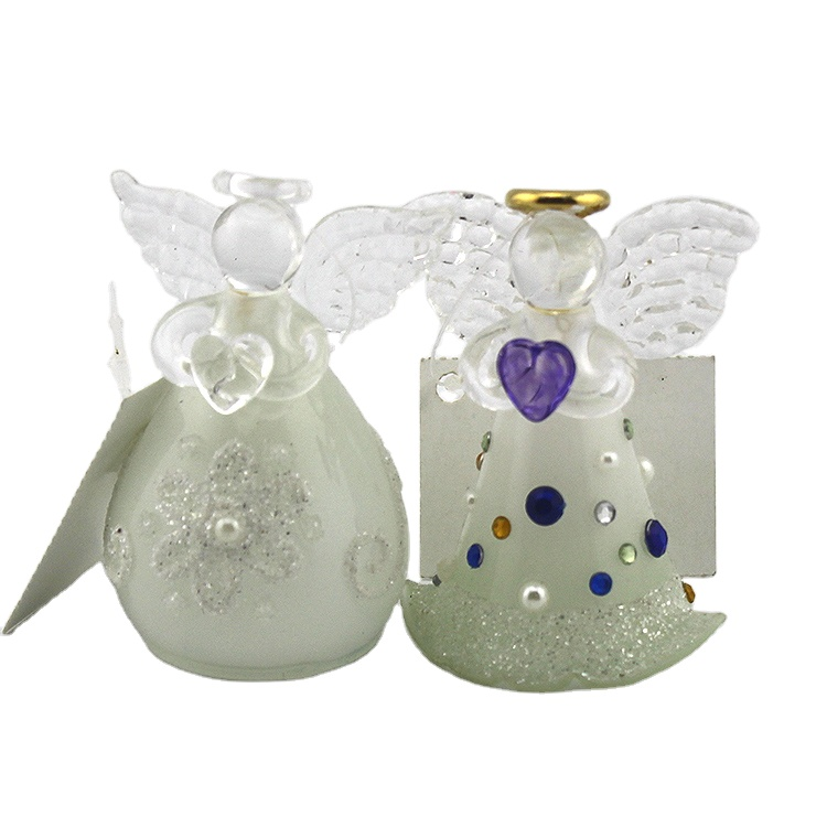 Factory Wholesale Blown Decorative Glass Christmas Tree Hanging Angel Figurines Ornaments For Indoor Holiday Decoration Buy Angel Figurines Glass Angel Figurines Christmas Angel Figurines Product On Alibaba Com