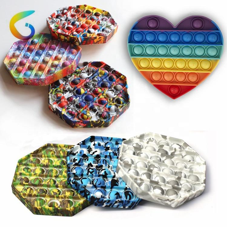 2021 Wholesale Custom Logo Printing Sensory Fidget Toys Set Fidget Toy