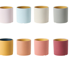 Ceramic Flower Ceramic Flowers And Plants Potted Hot Sale 3 4 5 Inch Colorful Ceramic Cylinder Flowerpot Plant Pot Nordic Ceramic Flower Pot