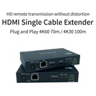 Audio New Version Home Audio 100M HDBaseT HDMI Extender 4K HDMI Extender Video Transmitter