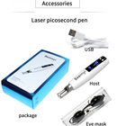 Usb Laser Pen New Design Portable Blue Red Light Therapy USB Rechargeable Mole Removal Tattoo Removal Picosecond Laser Pen