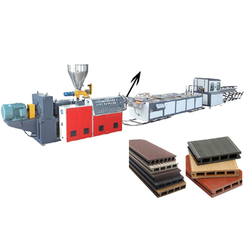 PVC Wood Plastic Composite Production Line