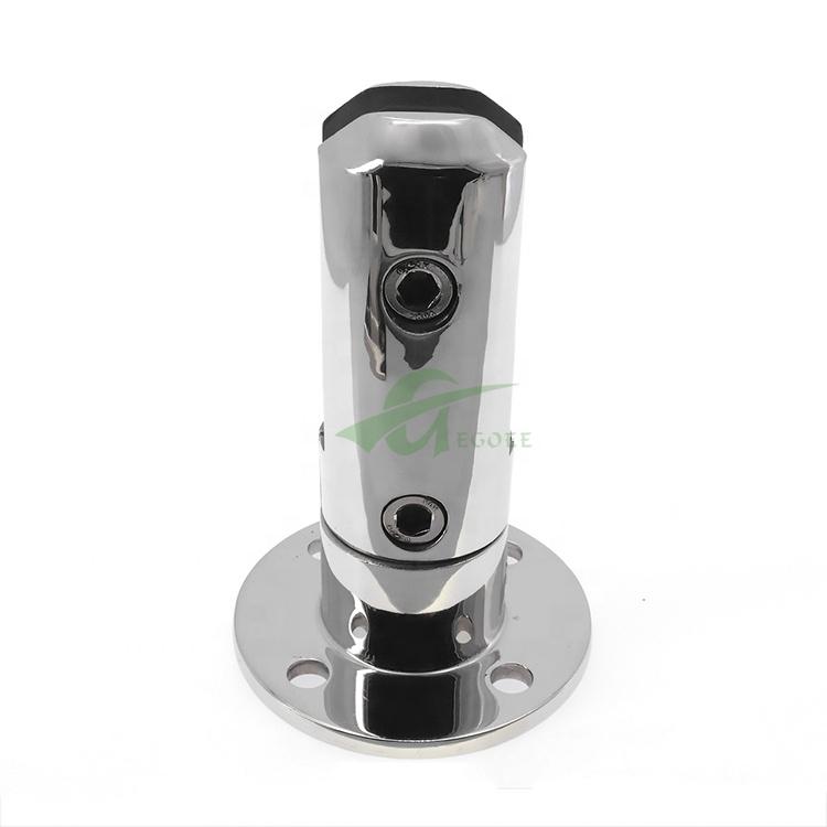 Крепкая установка перил, безрамный стеклянный зажим, 12 мм 16 мм, стеклянный держатель, аксессуары для стеклянных балконных перил