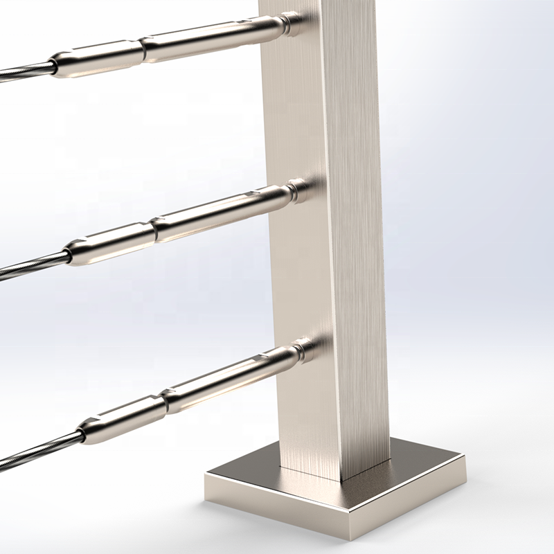 Stainless Steel Balustrade Design For Stairs Design Stainless Steel Stair Cable Railing Post Balustrade handrail stainless steel