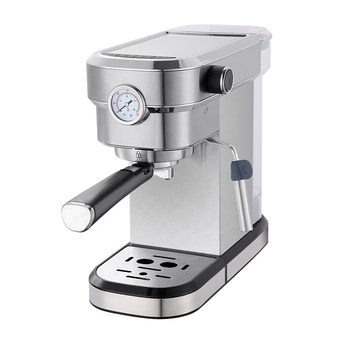 RL-CM6851 Espresso Coffee Maker Stainless Steel Customized Cup Logo for frother milk