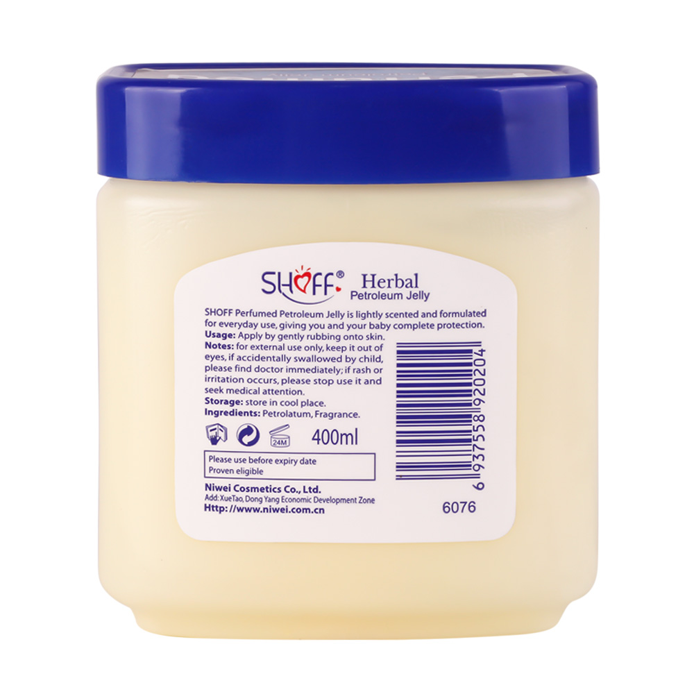 High Quality Hot Selling Product 55g 120g 220g 400g Petroleum Jelly For Baby Skin Care