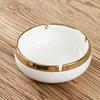 Large ashtray  White