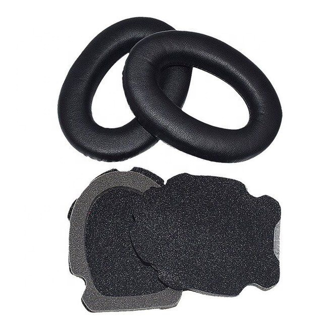 Free Shipping Foam Replacement Ear Pad Cushion Pads Earpads with High Quality Protein Leather for Bose A10 A20 Headphone Headset - idealBuds Earphone | idealBuds.net