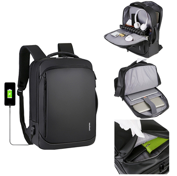 Men laptop waterproof backpack bag computer casual business backpack with usb multifunctional school backpack manufacturing