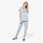 scrub suit nursescrubs uniforms setsscrubs joggers pants activewear fabric clothing running shorts
