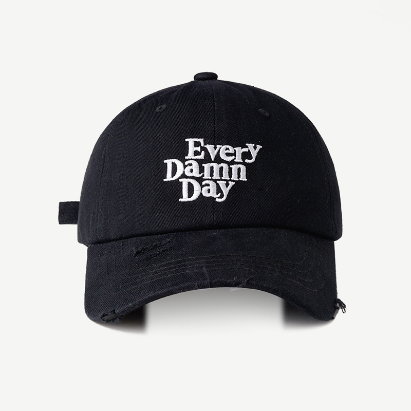 Custom embroidery logo dad hats, distressed baseball caps