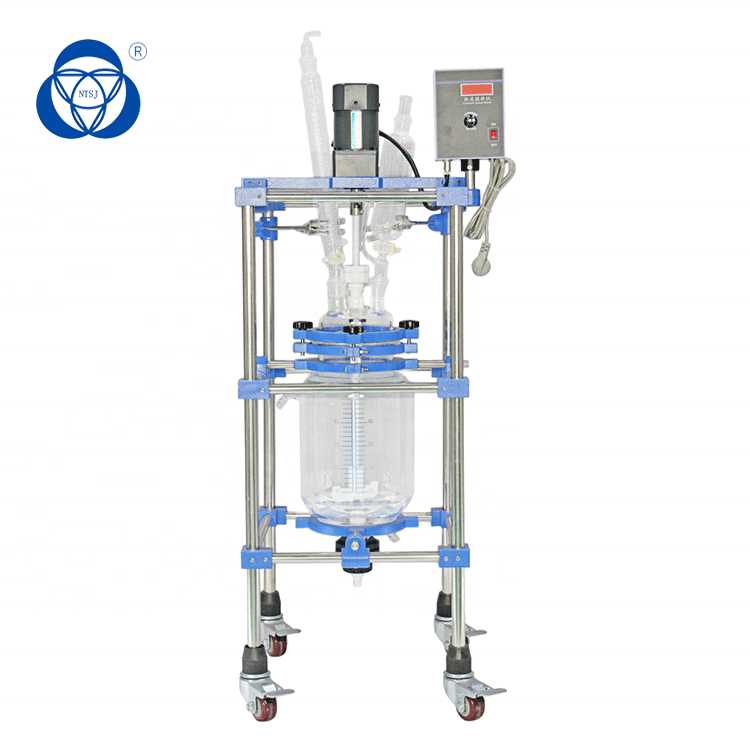 Explosion Proof Glass Reactor Chemical lab equipment for Lab