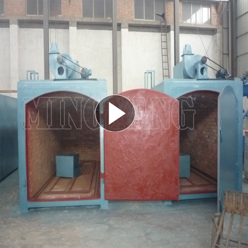 Best sell smokeless machine-made briquette self-ignite charcoal making kiln for charcoal