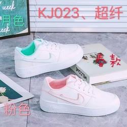 2021 женская спортивная обувь от производителя; Белые спортивные кроссовки из искусственной кожи с лазерной танкеткой; Женские спортивные кроссовки для занятий спортом на открытом воздухе