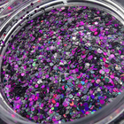 Beauty Glitter Bulk New Bulk Mixed Laser Polyester Chunky Glitters For Cosmetic Nail Beauty