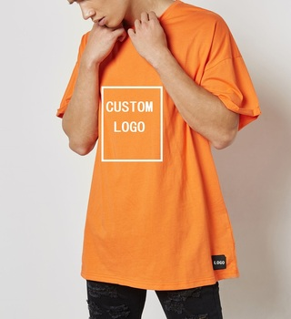 Custom Cotton half sleeve men clothes casual oversize mens tshirts