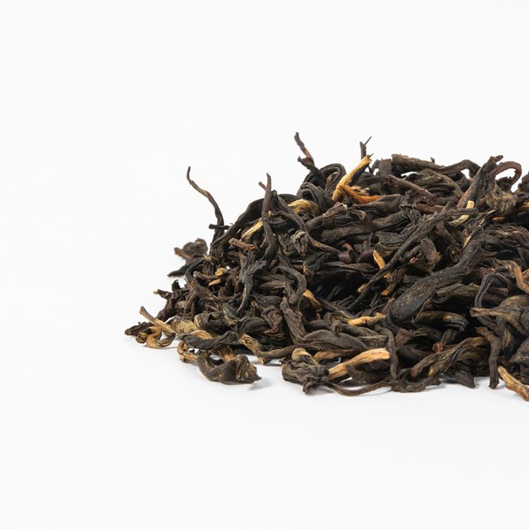 OEM private label loose leaf teas slim tea natural planting grade A yunnan black tea leaf - 4uTea   4uTea.com