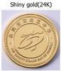 24K shiny gold