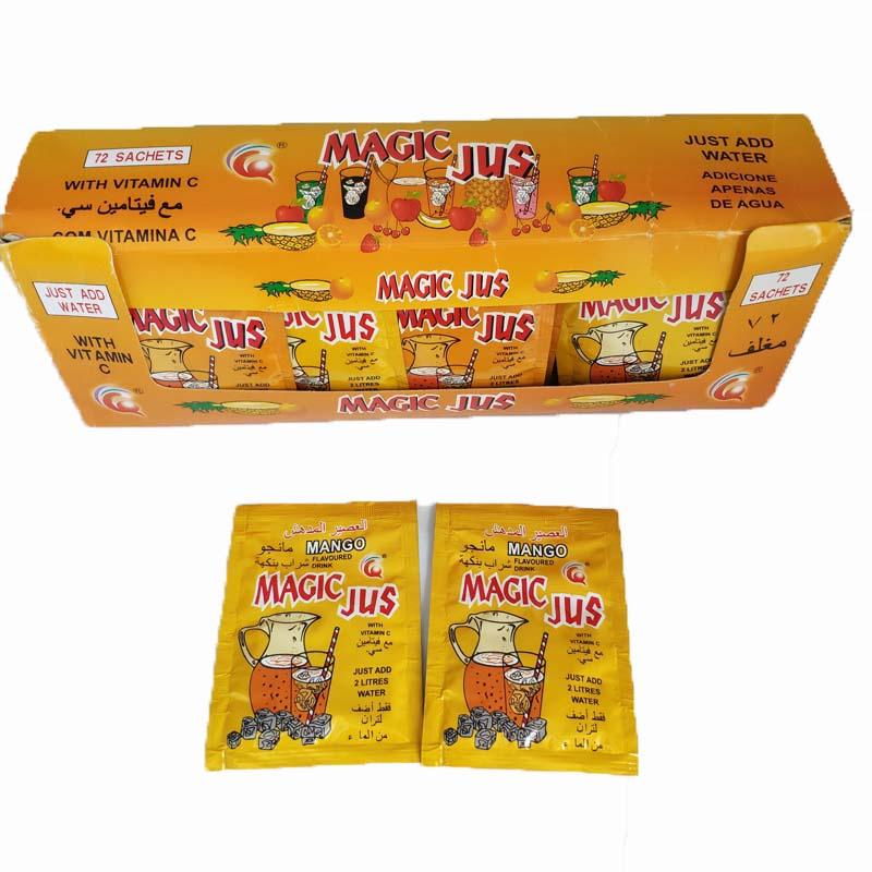 FDA одобренный 5 г Горячая продажа порошок фруктовый напиток смесь фруктовый напиток