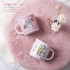 Merah muda mug