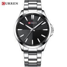 Мужские часы CURREN, кварцевые, водонепроницаемые, из нержавеющей стали(Китай)