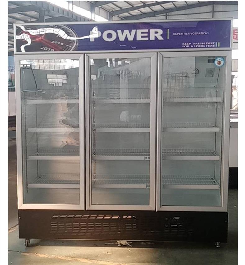 factory direct sale chiller refrigerator commercial upright pepsi freezer supermarket display fridge showcase fridge