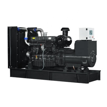 JIANGHAO diesel generator reliable service 300kw SDEC power genset for sale with ATS